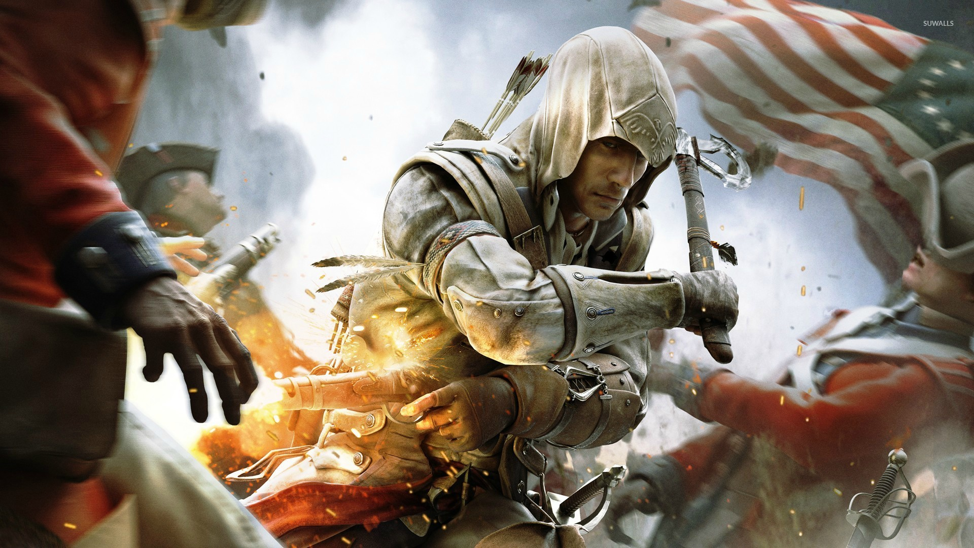 Assassins Creed III 4 Wallpaper 1920x1080 Jpg