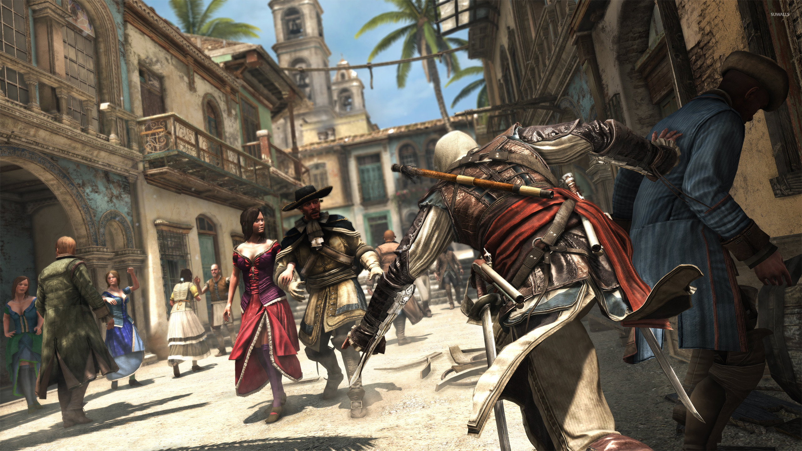 Assassin S Creed Iv Black Flag 11 Wallpaper Game Wallpapers