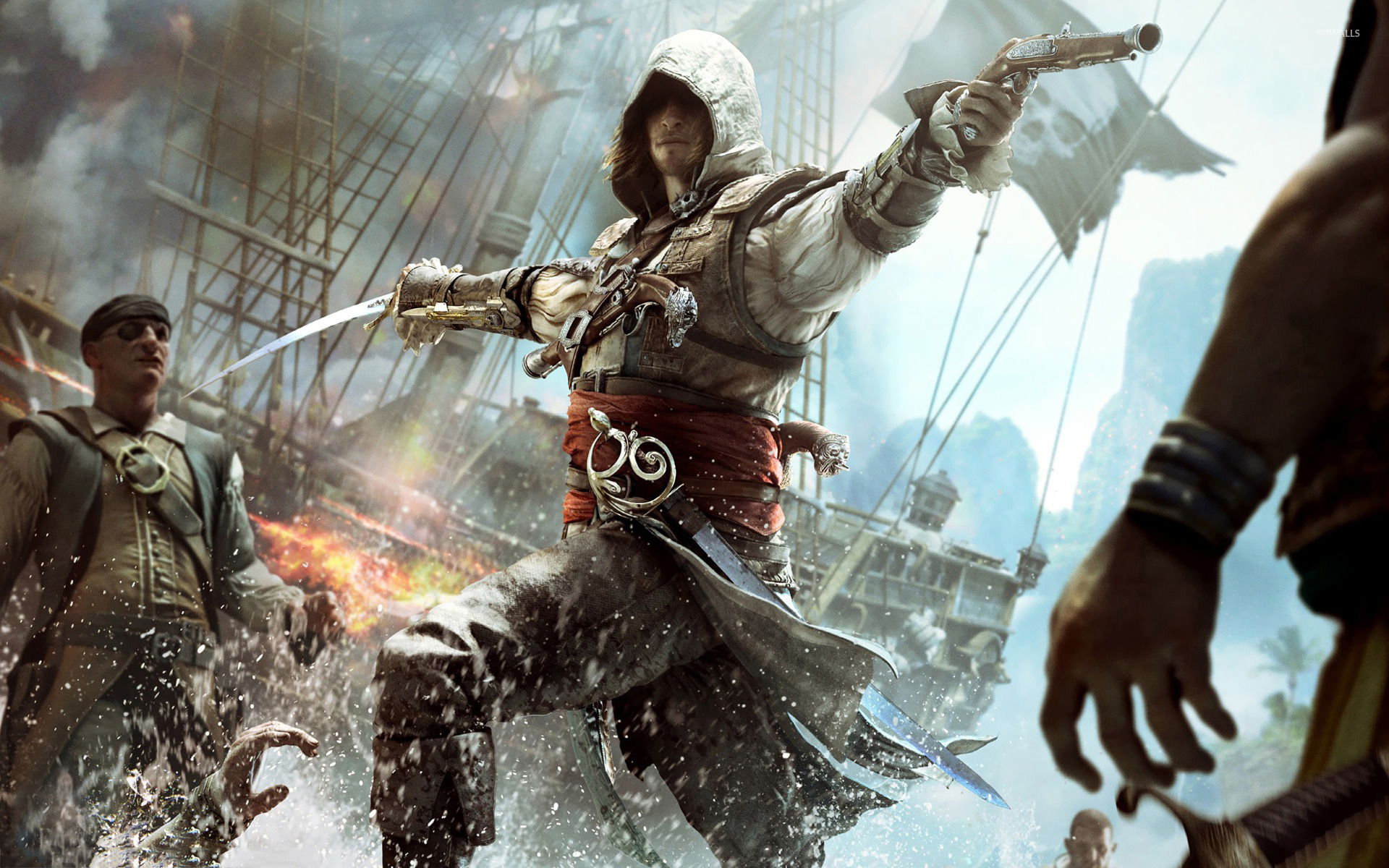 Assassin S Creed Iv Black Flag 8 Wallpaper Game Wallpapers