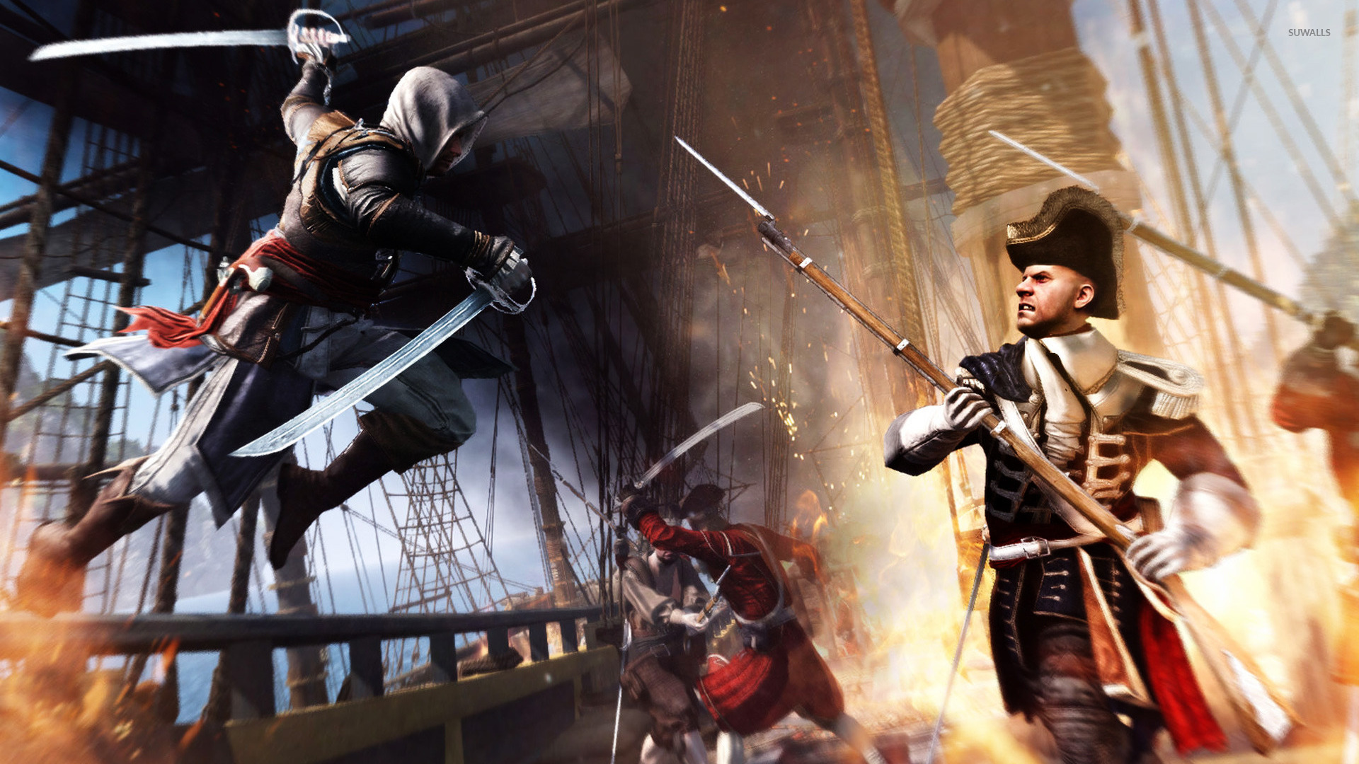 Download The Assassin S Creed Iv Black Flag Wallpapers: Assassin's Creed IV: Black Flag [15] Wallpaper