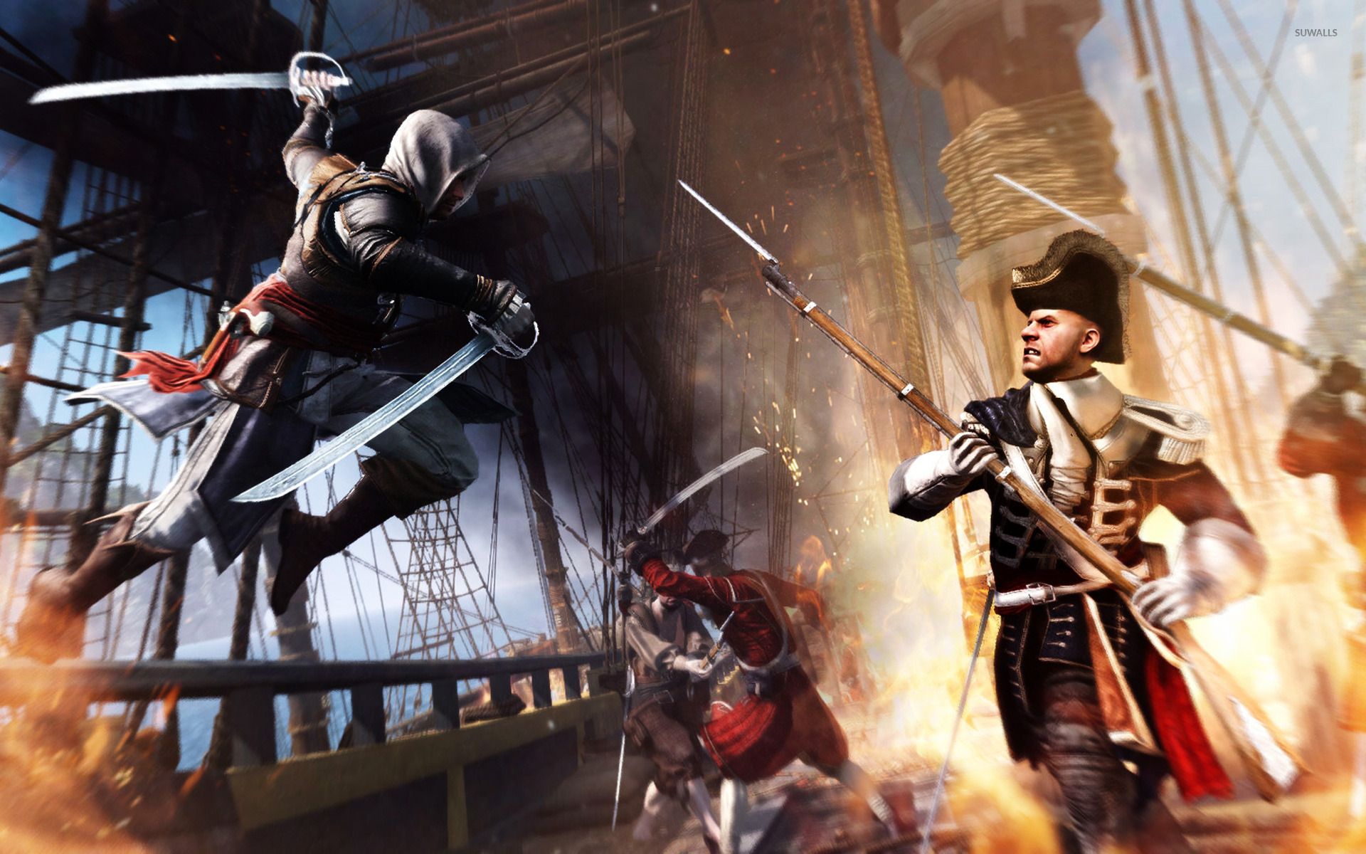Assassin S Creed Iv Black Flag 15 Wallpaper Game Wallpapers