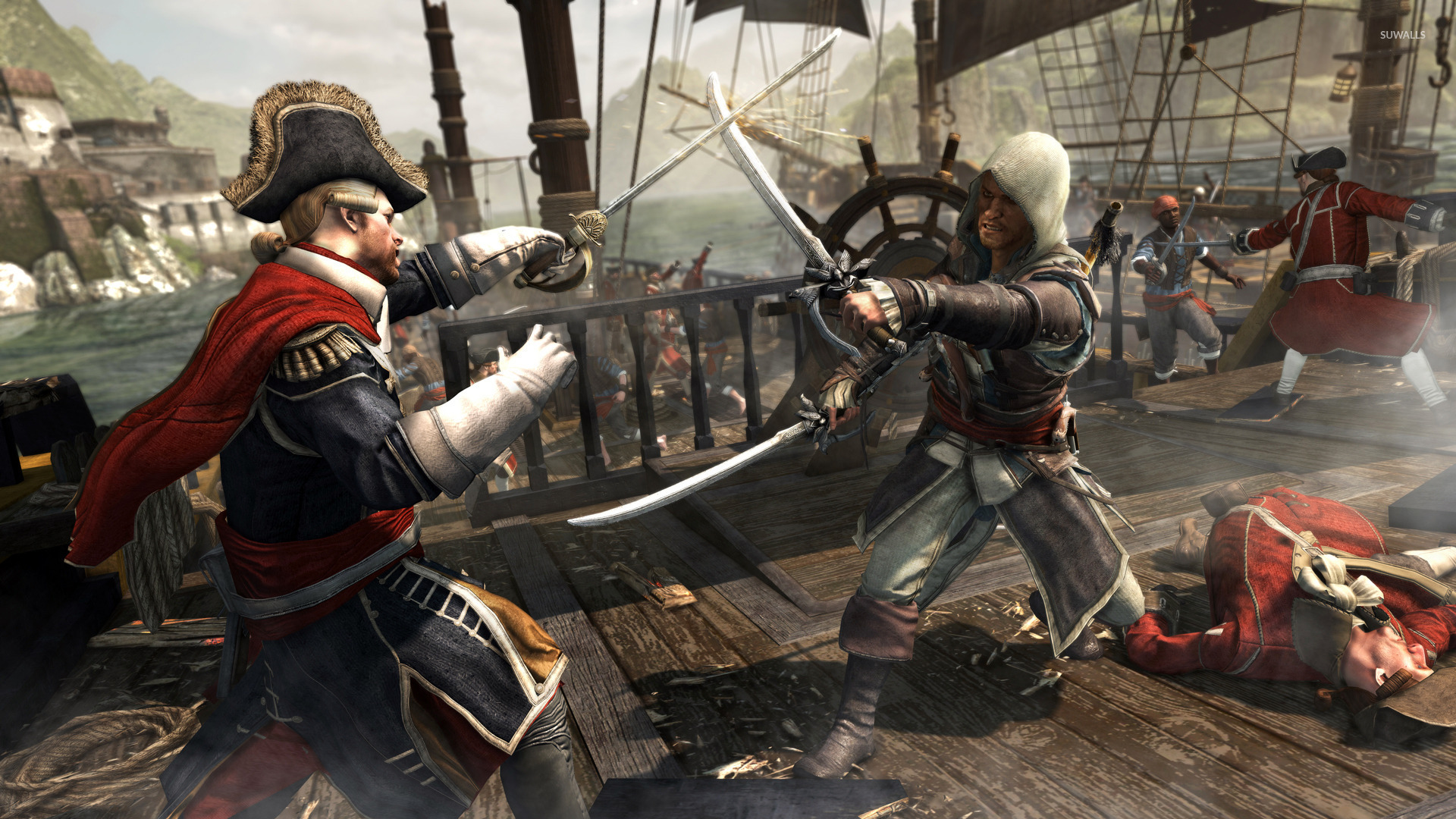 Assassin S Creed Iv Black Flag 13 Wallpaper Game Wallpapers
