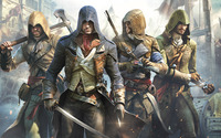 Assassin's Creed heroes wallpaper 1920x1080 jpg