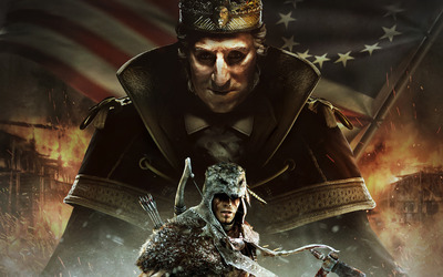 Assassin's Creed III:The Tyranny of King Washington wallpaper