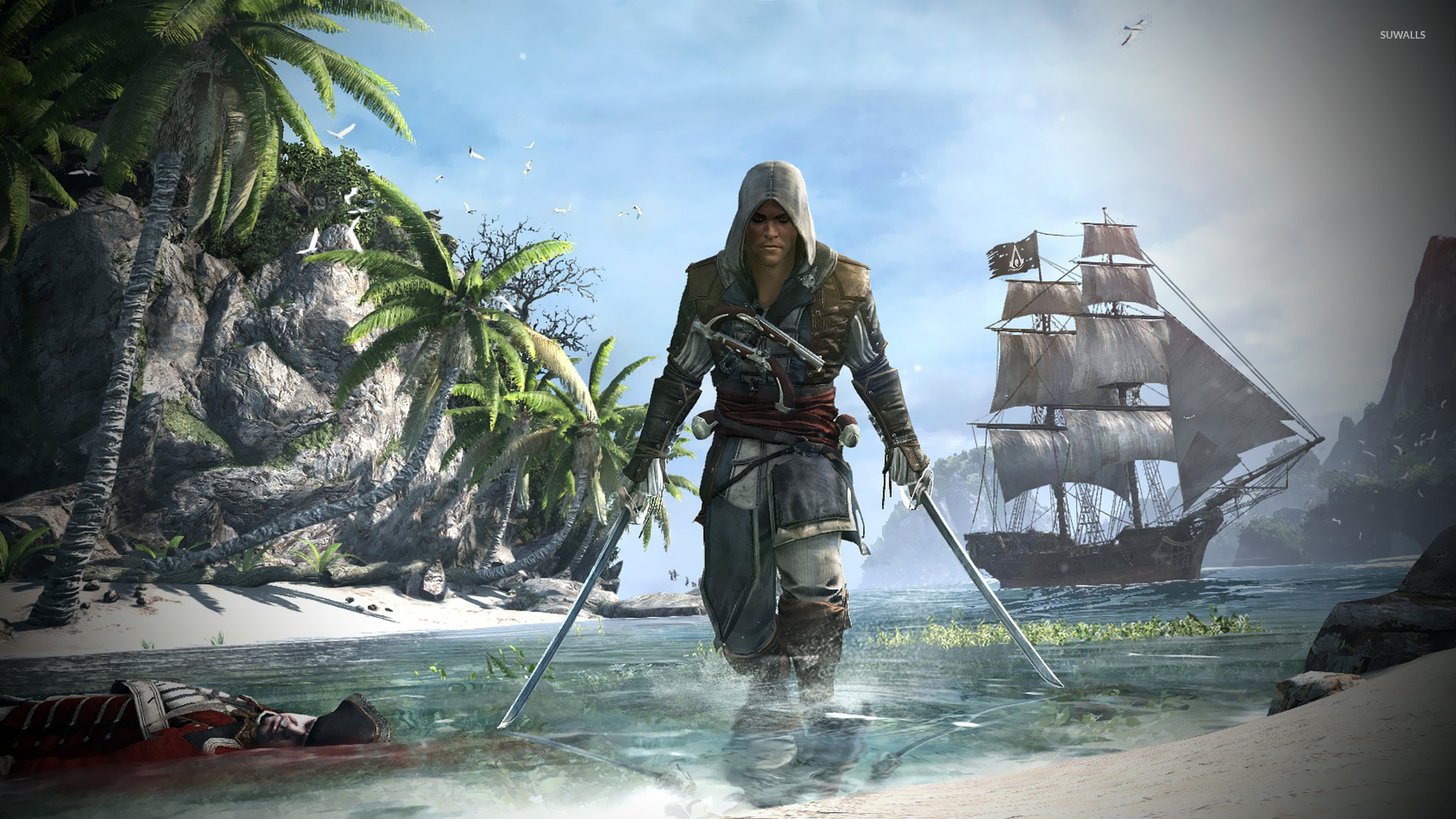 Assassin S Creed Iv Black Flag 2 Wallpaper Game Wallpapers