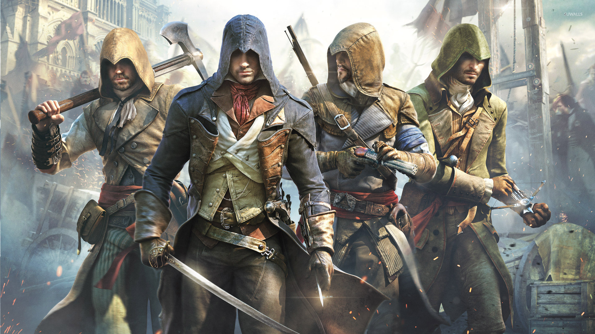 Assassin S Creed Unity 5 Wallpaper Game Wallpapers 31357