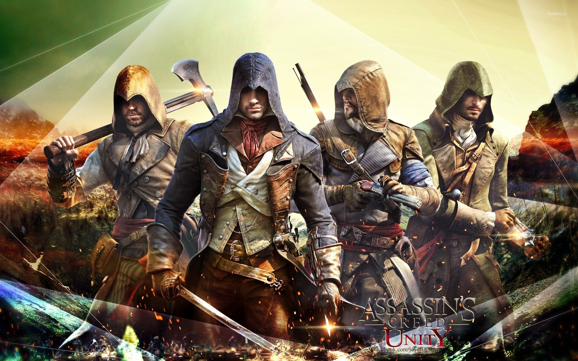 Assassin S Creed Unity Wallpaper Game Wallpapers 31454