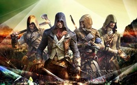 Assassin's Creed Unity wallpaper 1920x1200 jpg