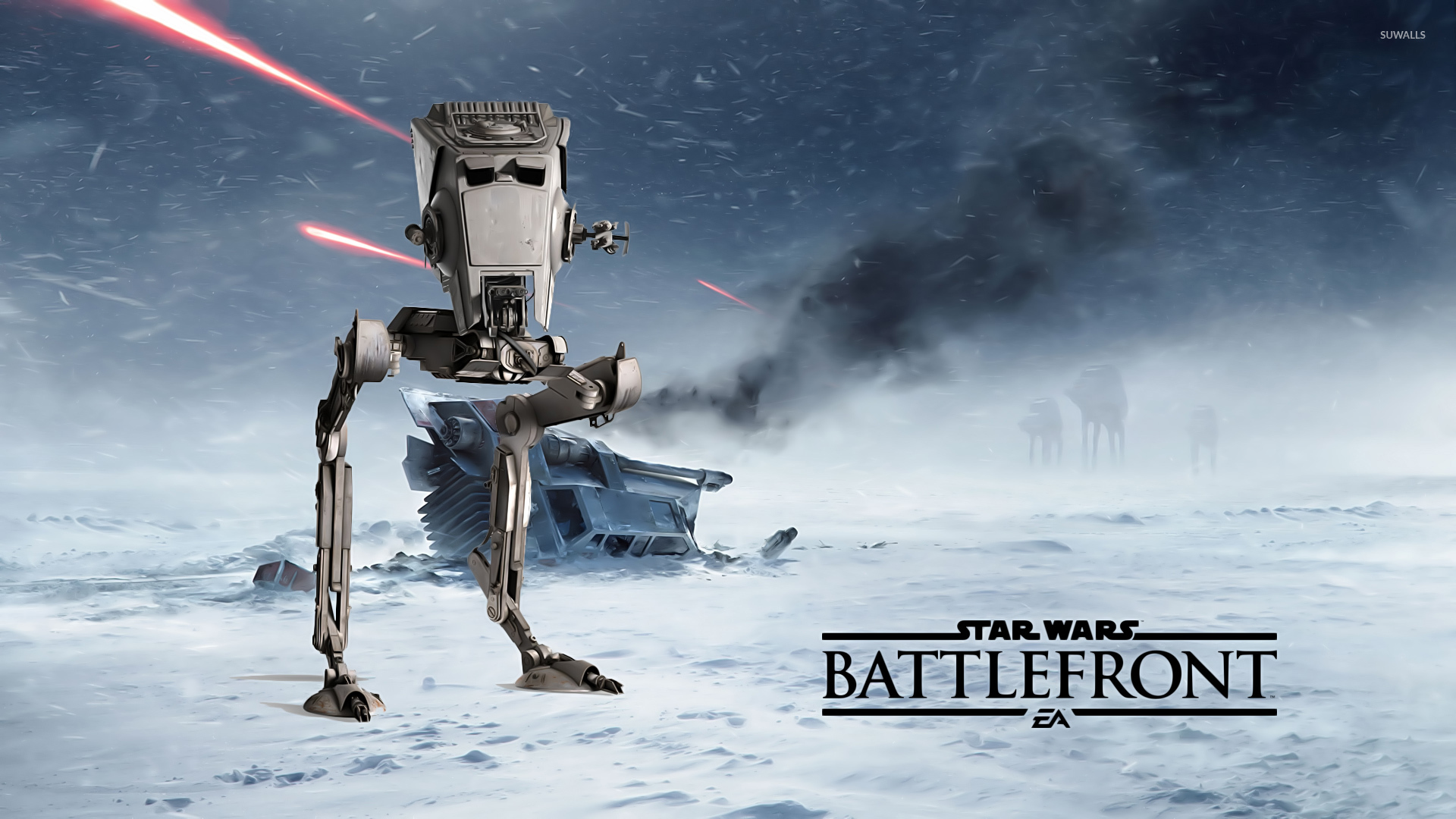 how to kill atst battlefront