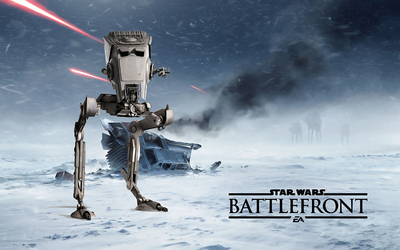 AT-ST - Star Wars Battlefront wallpaper