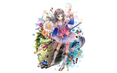 Atelier Totori: The Adventurer of Arland [3] wallpaper