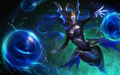 Atlantean Syndra - League of Legends wallpaper