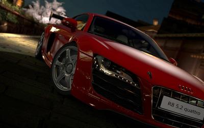 Audi R8 5.2 quattro Gran Turismo 5 wallpaper