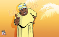 Auntie Poulet elderly Haitian matriarch wallpaper 2880x1800 jpg