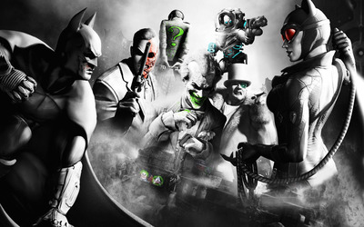 Batman: Arkham Origins [4] wallpaper