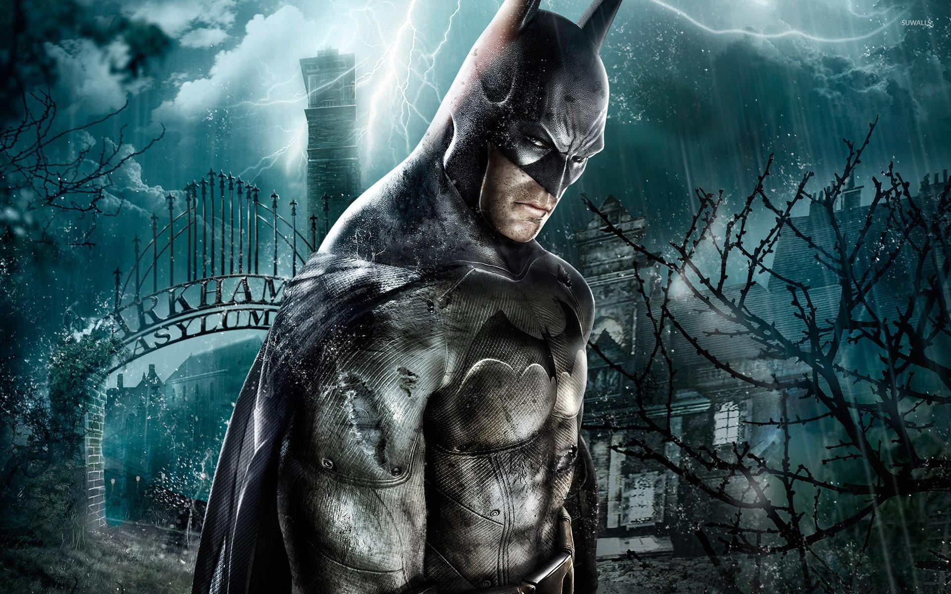 Batman in Batman: Arkham Asylum wallpaper