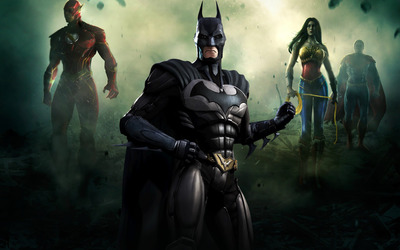 Batman - Injustice: Gods Among Us wallpaper
