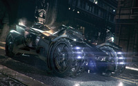 Batmobile - Batman: Arkham Knight wallpaper 1920x1080 jpg