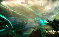 Battle in StarCraft II: Legacy of the Void wallpaper 1920x1080 jpg