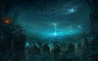 Battle of the Immortals wallpaper 2560x1600 jpg