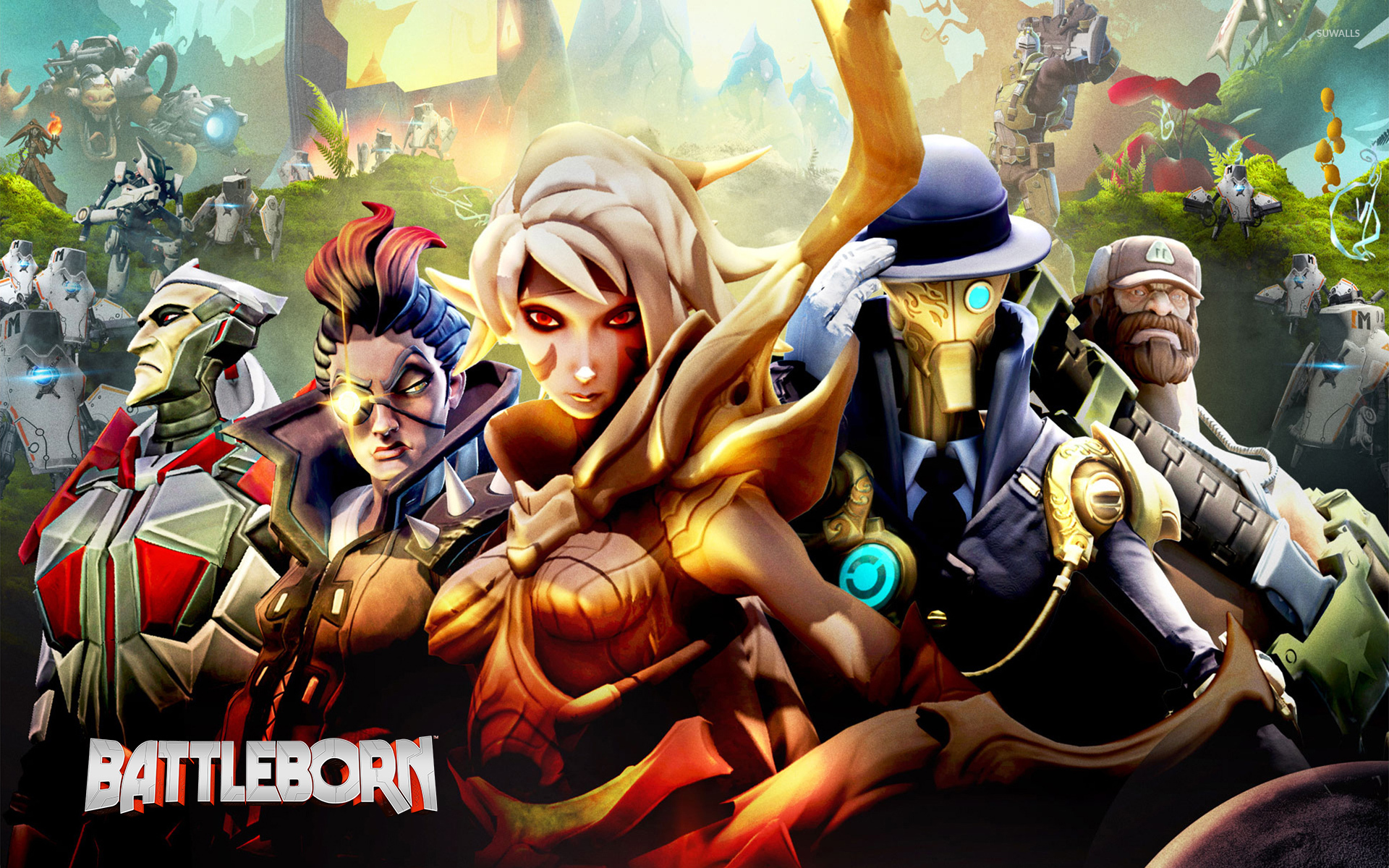 Battleborn Heroes Wallpaper Game Wallpapers 49576