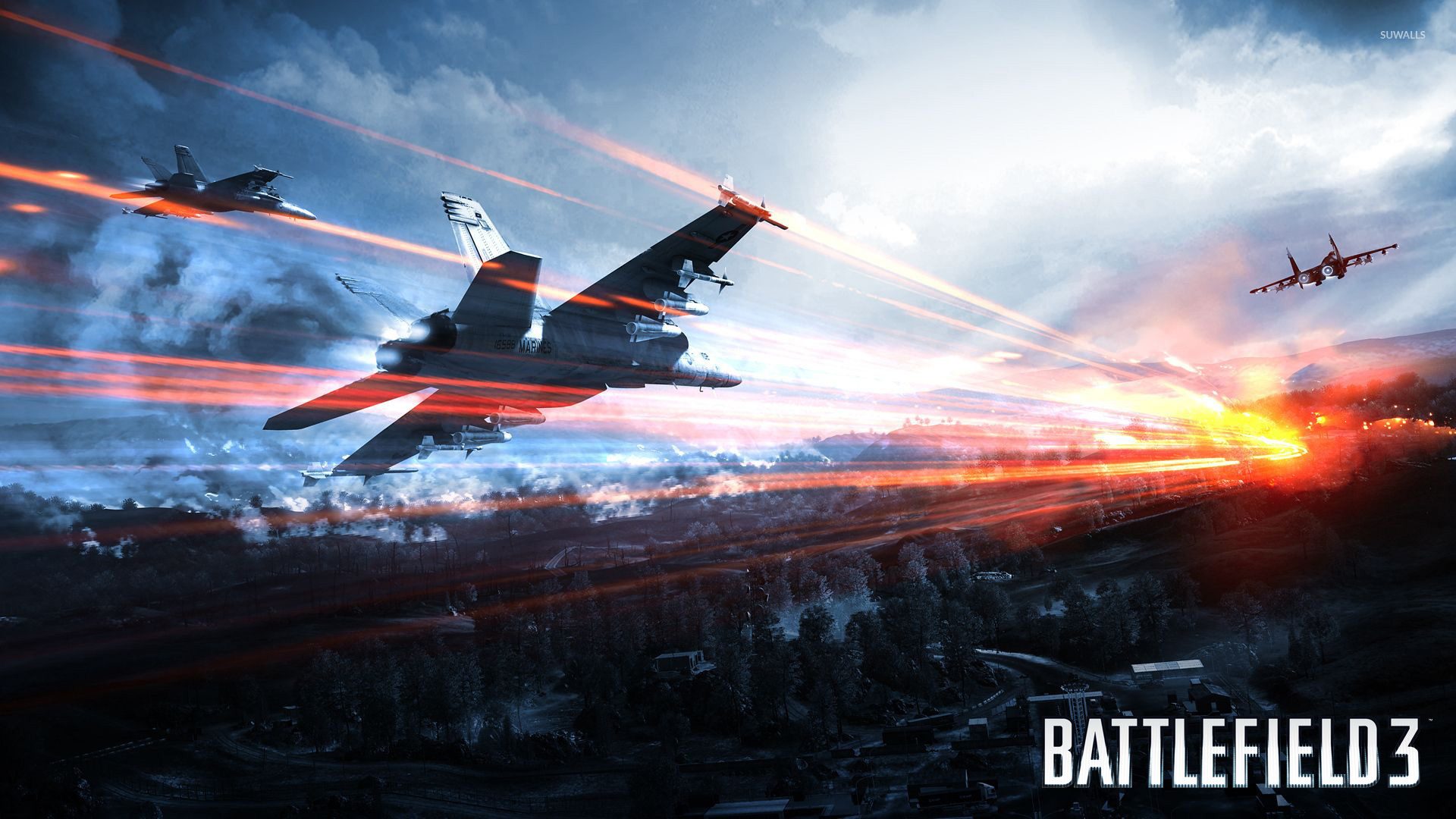 Battlefield 3 wallpaper - Game wallpapers - #8548