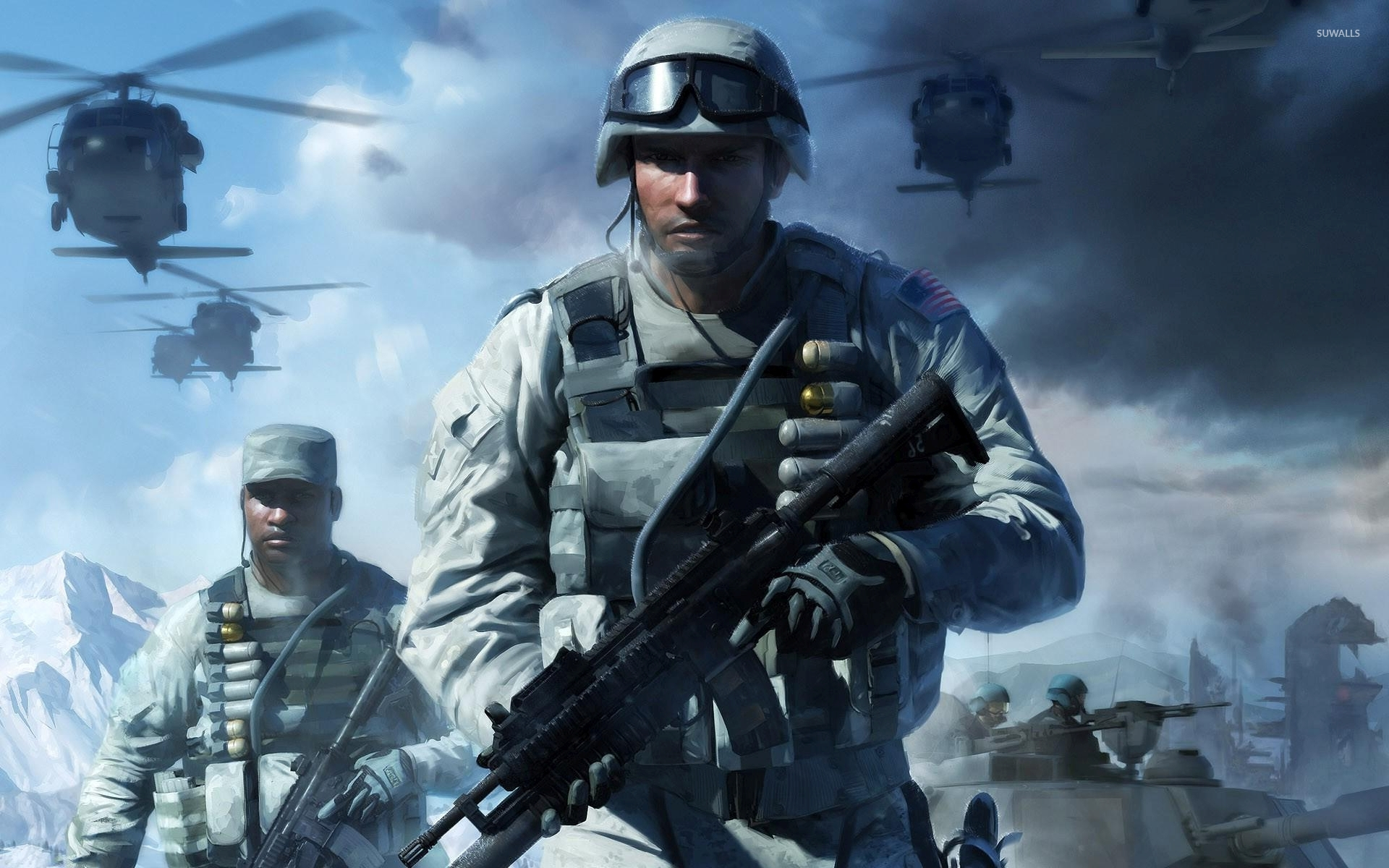 battlefield: bad company 2 [3] wallpaper - game wallpapers - #34695