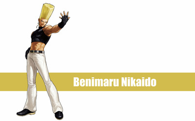 Benimaru Nikaido - The King of Fighters wallpaper