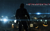 Big Boss in Metal Gear Solid V: The Phantom Pain wallpaper 3840x2160 jpg