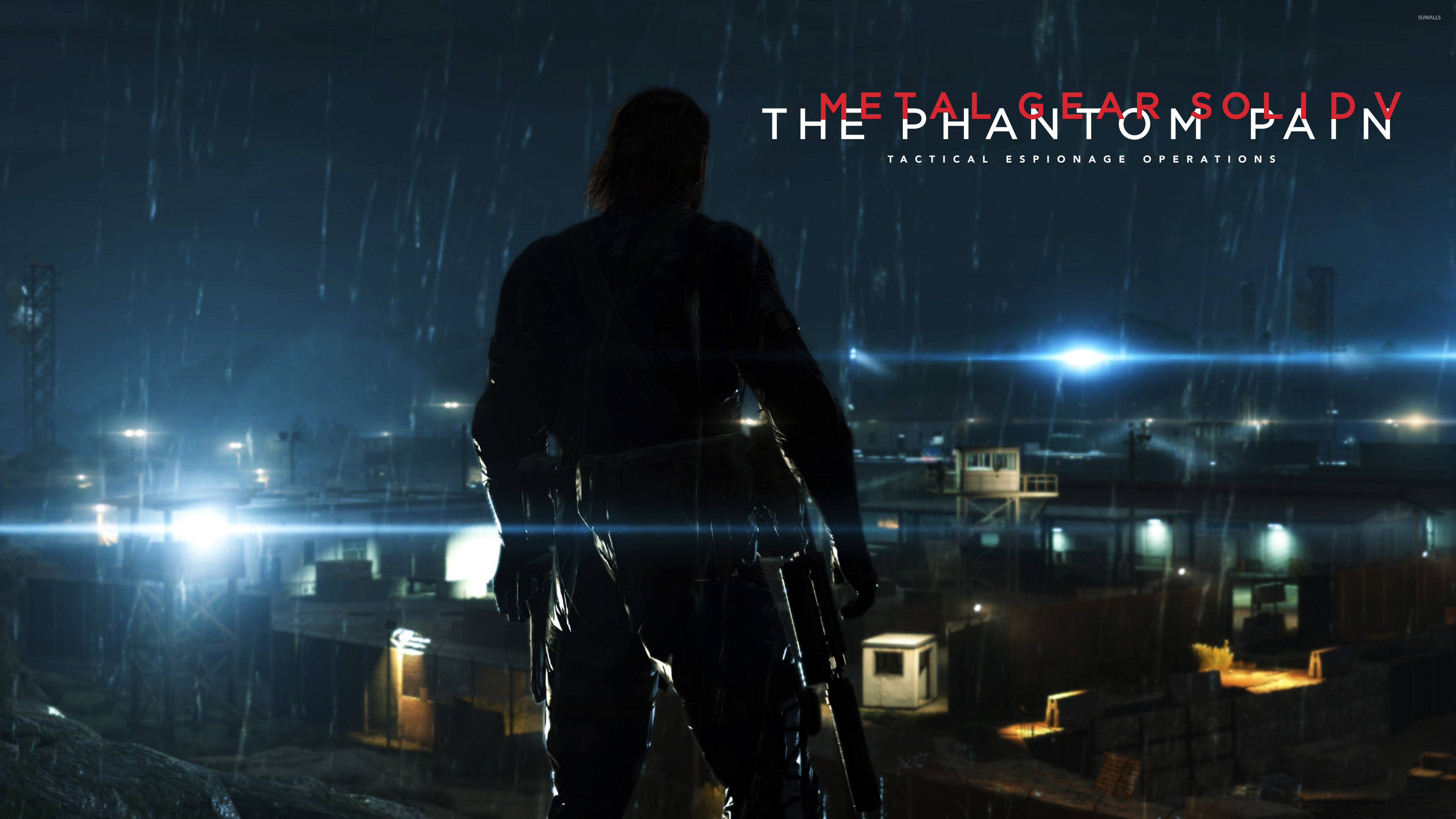Big Boss In Metal Gear Solid V The Phantom Pain Wallpaper Game