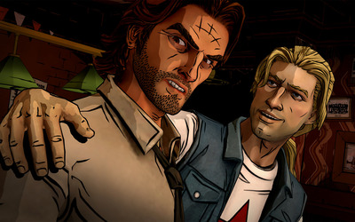 Bigby Wolf  and Jack Horner  - The Wolf Among Us wallpaper