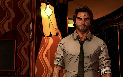 Bigby Wolf - The Wolf Among Us wallpaper