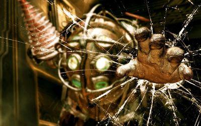 BioShock hand poster wallpaper