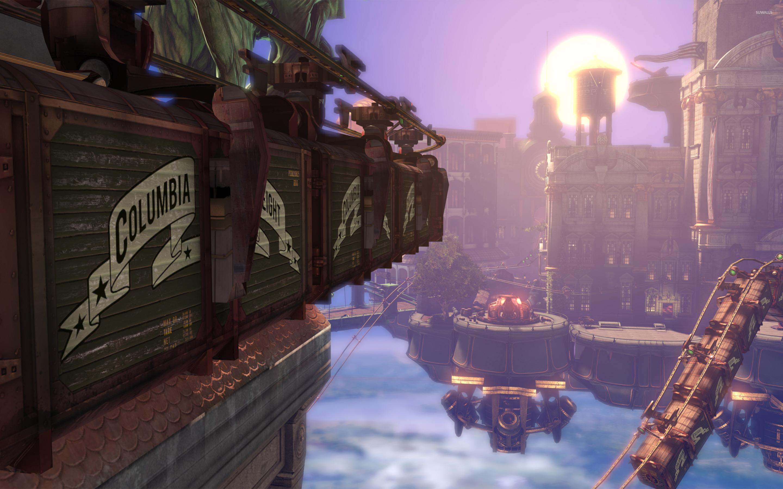 BioShock Infinite [22] wallpaper - Game wallpapers - #20587 Floating City Steampunk