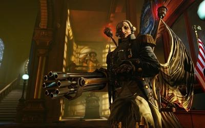 BioShock Infinite Patriot wallpaper