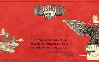 Bioshock Infinite quote wallpaper