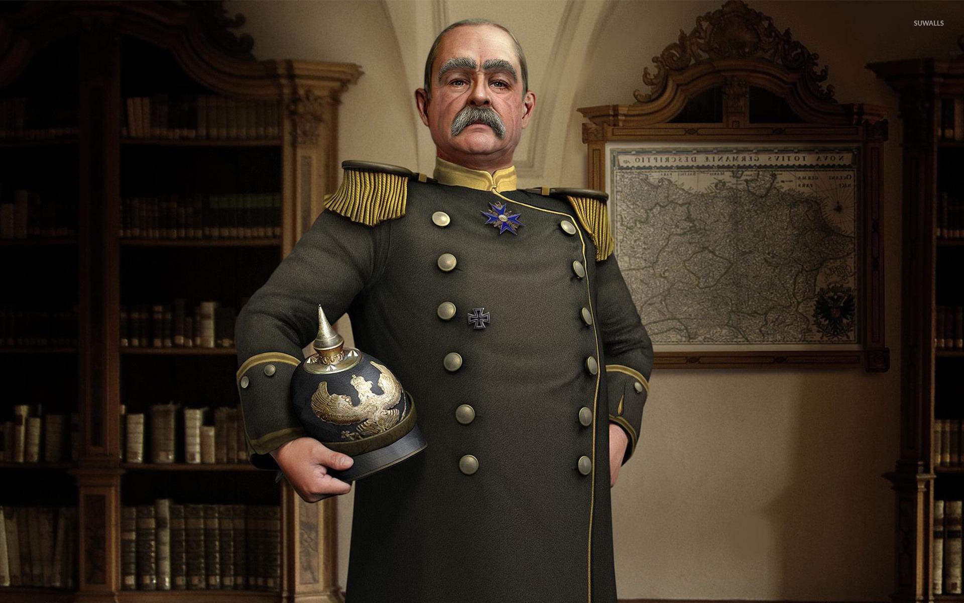 Bismarck Of Germany Sid Meiers Civilization V Wallpaper
