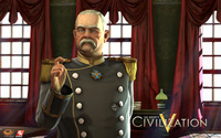 Bismarck of Germany - Sid Meier's Civilization V [2] wallpaper 1920x1200 jpg
