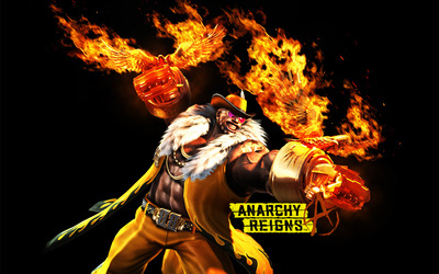 Blacker Baron - Anarchy Reigns wallpaper