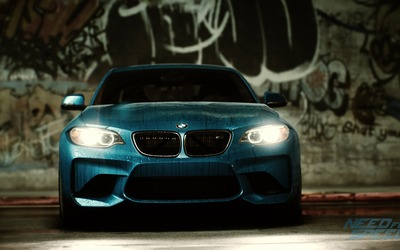 BMW M2 Coupe in Need for Speed wallpaper
