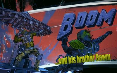 Boom and Bewm in Borderlands wallpaper