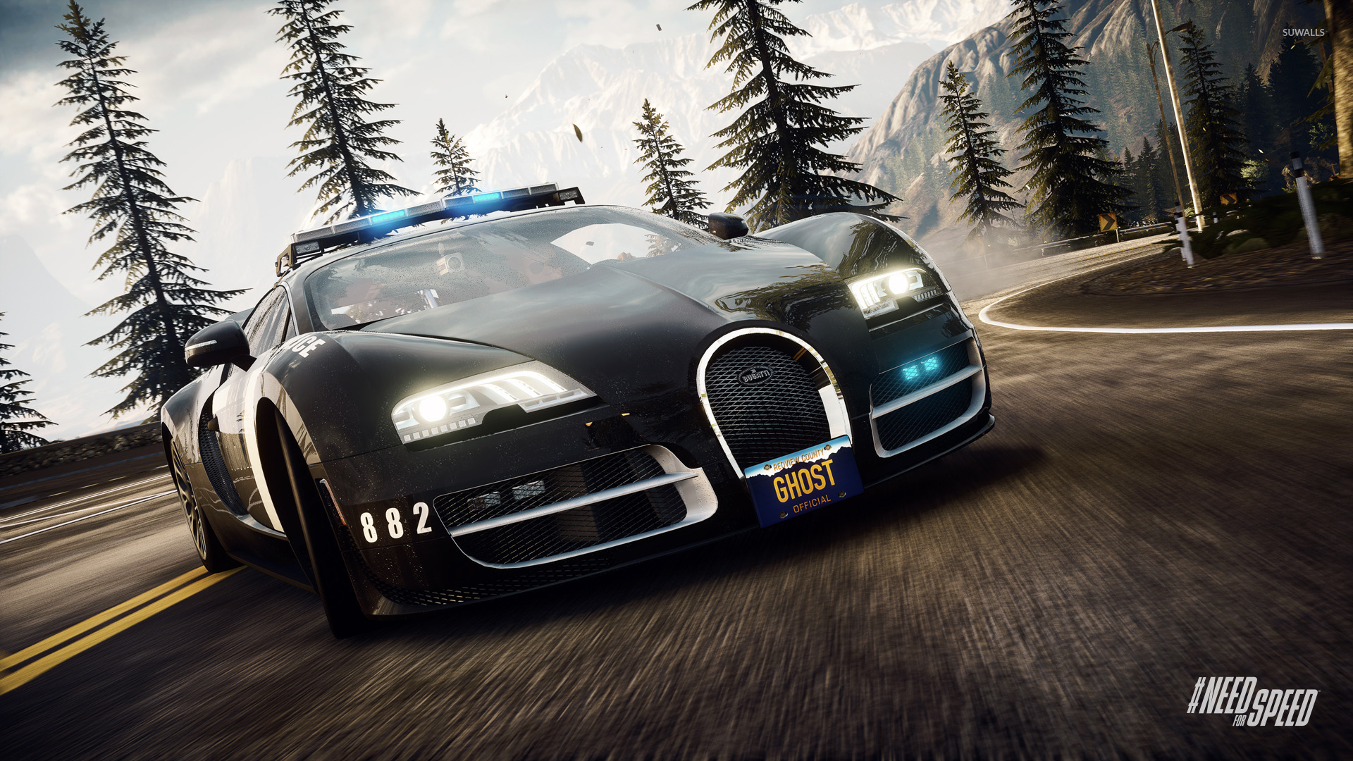 Need for Speed Rivals Bugatti Veyron Super Sport HD Desktop