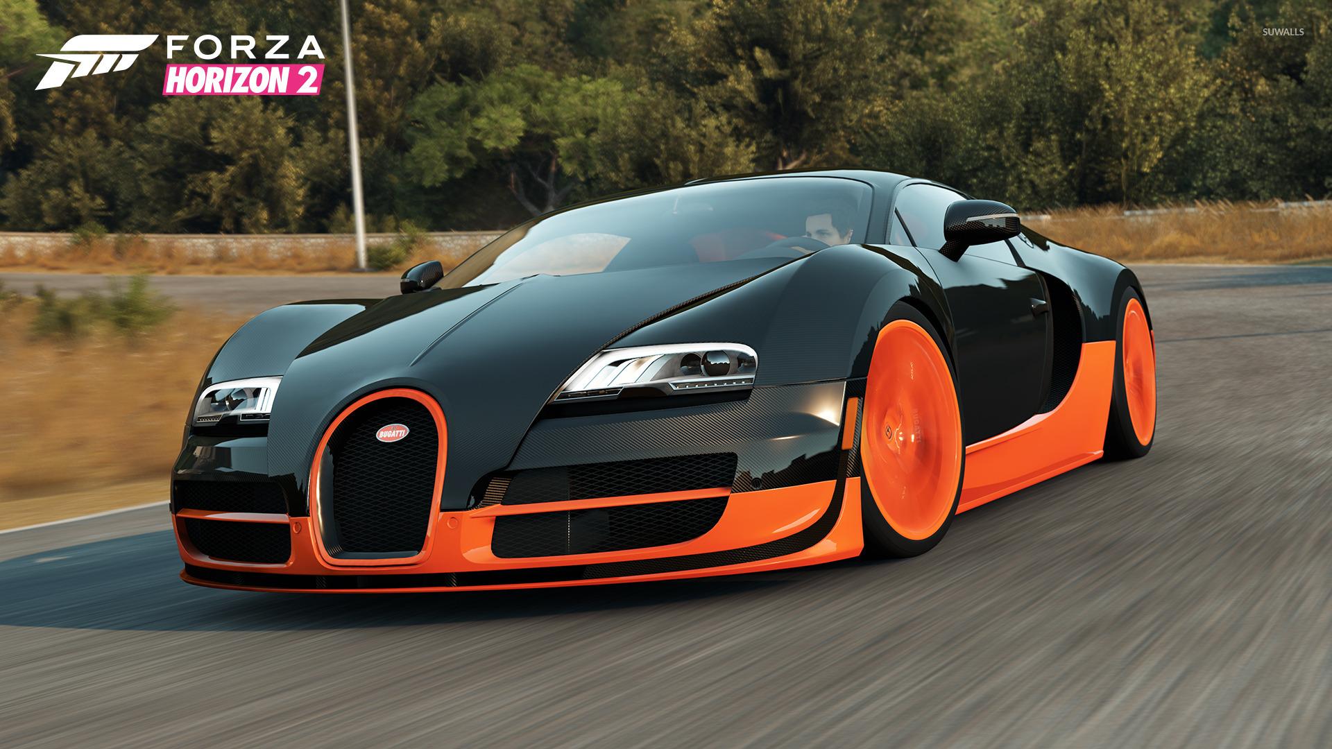 Bugatti Veyron Super Sport   Forza Horizon 2 Wallpaper