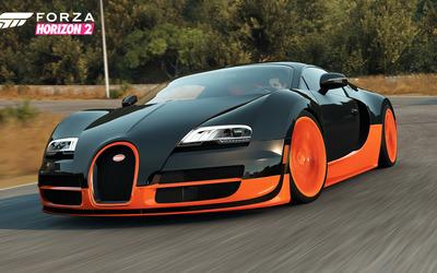 Bugatti Veyron Super Sport - Forza Horizon 2 Wallpaper
