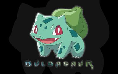 Bulbasaur in Pokemon wallpaper