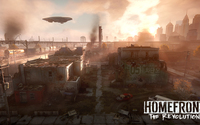 Burning city in Homefront: The Revolution wallpaper 1920x1080 jpg