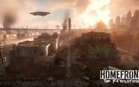Burning city in Homefront: The Revolution wallpaper 1920x1080 jpg