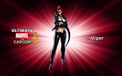 C. Viper - Ultimate Marvel vs. Capcom 3 wallpaper