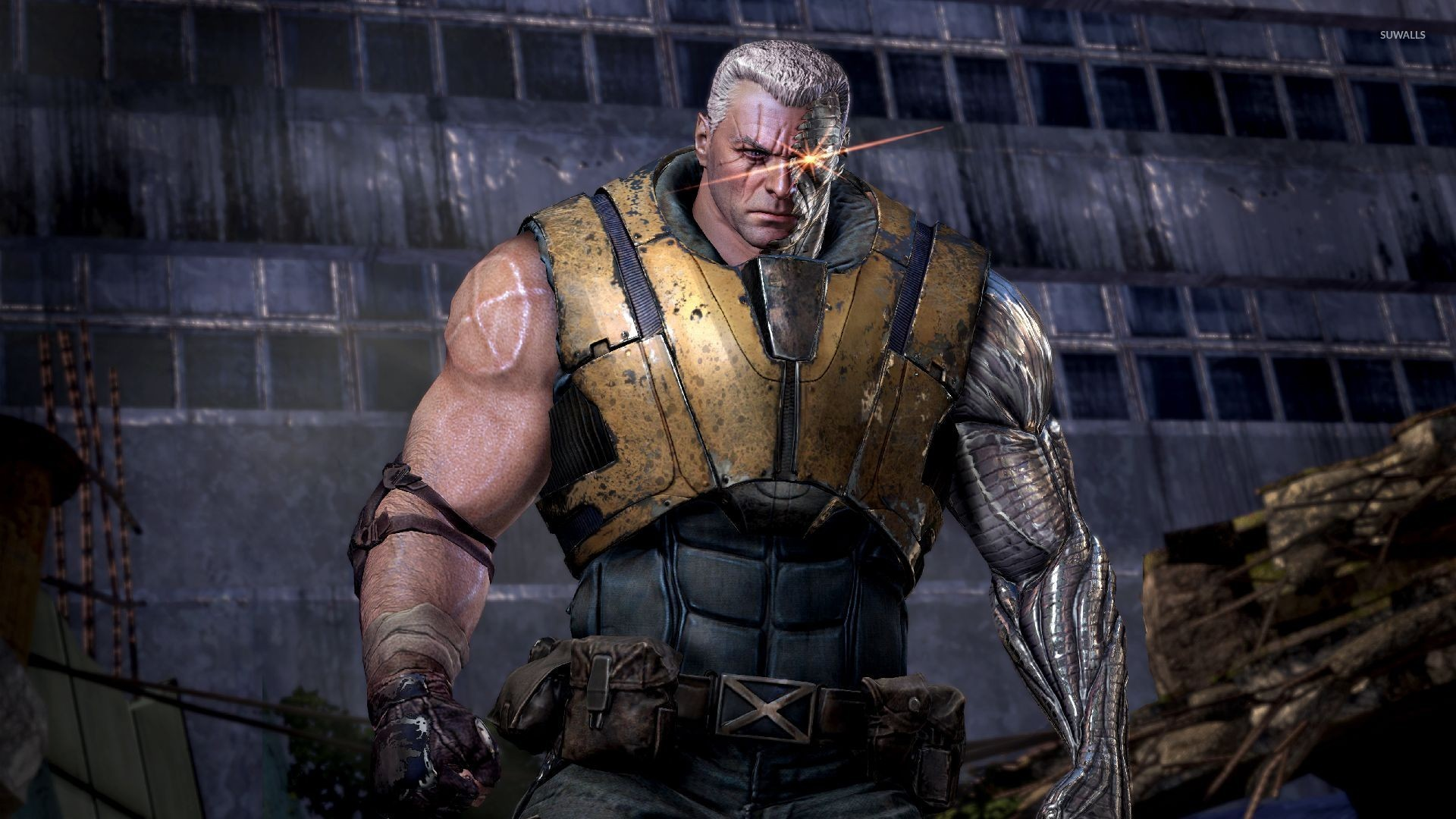cable - deadpool wallpaper - game wallpapers - #21202
