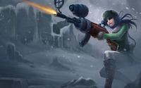 Caitlyn, the Sheriff of Piltover - League of Legends wallpaper 1920x1080 jpg